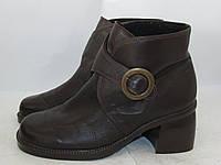 Стильные утепленные ботинки _Кожа_комфорт _38_24см