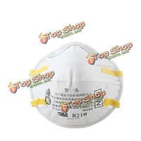 3м 8210 частиц пыли PM2.5 N95 работает респиратор сварные ремень маски привязанность