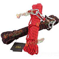 10м альпинистские веревки техники безопасности жизни твердый ремень веревки 8мм нейлоновые веревки сильные