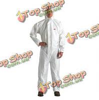 4510 большого размера белые соединились с капюшоном защитной одежды