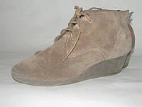 Отличные стильные ботинки_Англия _Замша _ ст. 23.5
