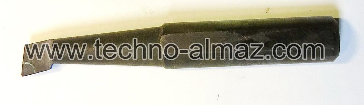 Резец токарный 601704 (осн.Гексанит-Р) D-8 мм. L-55 мм.