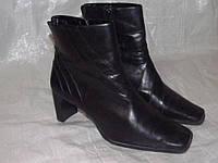Janet D._ стильные кожаные ботинки _ 36р _ст. 23