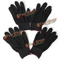 2 пары антистатический нейлон перчатки работы сцепление прочный вязать рабочие перчатки безопасности