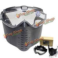 Marui противотуманные вентилируемые тактический страйкбол электрической маска полный маска газа