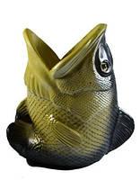 Подставка для ручек рыба, карп, щука 150x150x90