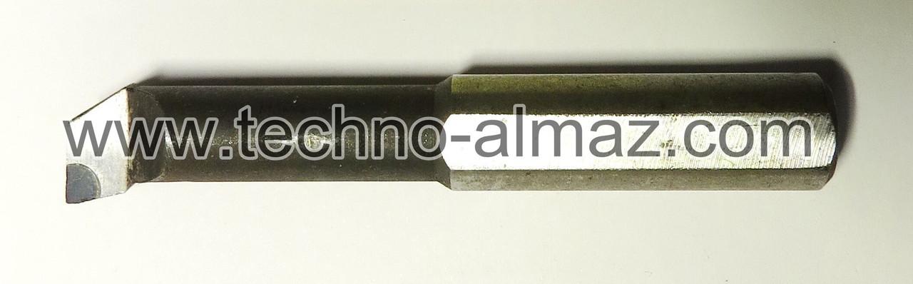 Резец токарный 604602 (осн. Гексанитом-Р) D-16 мм. L-80 мм.