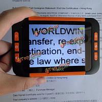 Портативный 3.5-дюймовый цветной ЖК-дисплей карманного 32x электронный видео- увеличитель 4 плохое зрение для чтения книг газеты ng4s