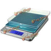 500 0.01г ЖК-цифровой Mini электронная карманные весы ювелирных изделий с бриллиантами монета грамм баланс