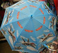 Зонтик для мальчика с самолетиками Супер Крылья