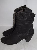 TAMARIS _ стильные ботинки _Кожа_Германия_38 24.5
