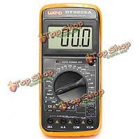 Dt9205a цифровой мультиметр вольтметр вольтметр переменного/постоянного тока амперметр емкости тестер