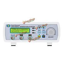 Генератор сигналов цифровой двухканальный ДДС генератор MHS-5200p 25МГц