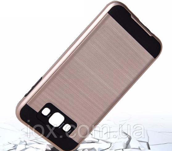 Чехол золотой двойной Verus для Samsung Galaxy J5 (2016)