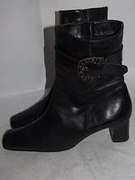 Утепленные ботинки _Германия _Кожа _41р_26.5см Н11
