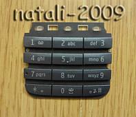 Кнопки Nokia Asha 300 серые