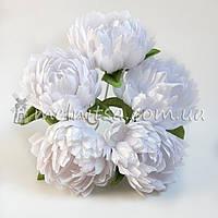 Букет хризантем, белый