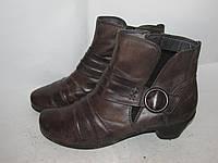 JANA natural _ стильные ботиночки _Кожа _ 5р_24.5