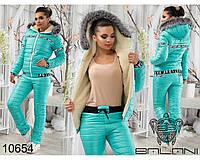 Женский костюм теплый лыжный Кира 017