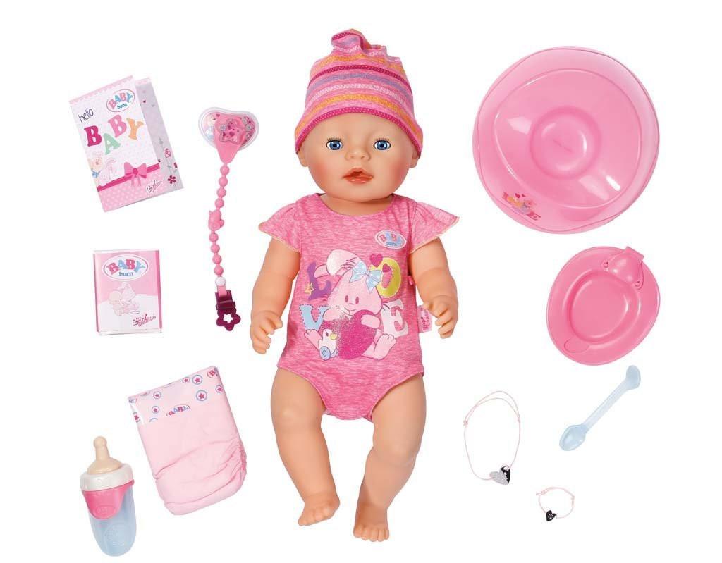 Пупс 43 см с аксессуарами Baby Born Zapf Creation 822005 - vip-detki.com  в Киеве