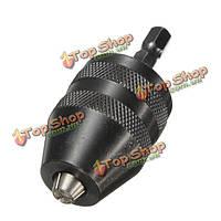1/4 быстрозажимной сверлильный патронбит конвертер адаптер шестигранный хвостовик электроинструмент