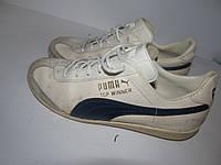 PUMA _Кожа _стильные кроссовки _ ст.24см
