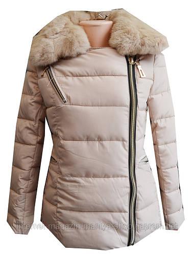 Куртка женская мех искуственный