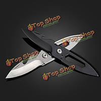 12см многофункциональный Mini складные ножи брелоки брелок подарок инструмент
