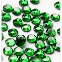 Камни SS4 зеленые, аналог Сваровски