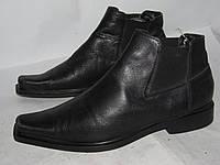 Baggatt _  Италия _ стильные ботинки Кожа _38р 26