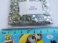 Камни SS16 кристалл АВ, аналог Сваровски, фото 1