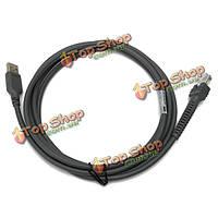 USB кабель 7 футов 2м для ls1203 сканер штрихкода Symbol ls2208 ls4208 и т. д.