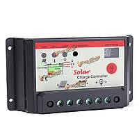 20А 12v/24v регулятора PWM солнечной заряда панели солнечных батарей контроллер батареи 240Вт/480Вт
