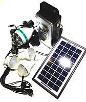 Универсальная солнечная система GDLITE GD-8023 с функцией MP3 плеера и FM радио