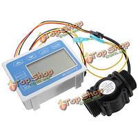 ZJ--LCM-M LCD  потока жидкости датчик воды цифровой расходомер количественных контроллер монитора