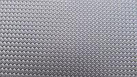 "Резина подметочная ""Мелкая косичка"" (эластичная) 500*500т.2мм.,черн.,КБ Украина"
