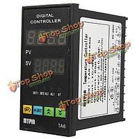 Цифровой ПИД-регулятор температуры +6 футов 25А реле +K Тип термопары