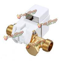 12В DC 1/2-дюйма электрический н/з электромагнитный клапан для воздуха воды