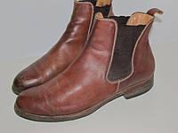 Стильные ботинки челси из Италии -Кожа _ 39р 26.5