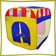 Детские палатки, корзины для игрушек