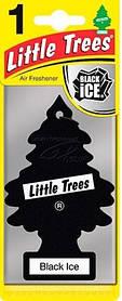 "Ароматизатор воздуха Little Trees  ""Черный лед"""