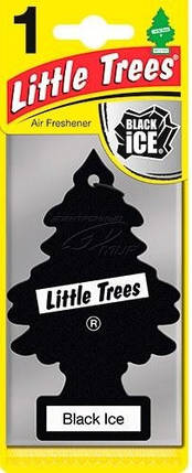 "Ароматизатор воздуха Little Trees  ""Черный лед"", фото 2"