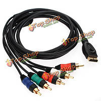 HD компонентный AV кабель для Sony PlayStation на пс3 разрешение HDTV аудио-видео шнур
