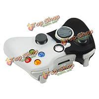 Новый силиконовый чехол чехол кожа для Xbox 360 контроллер черный-белый