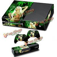 Личность винил наклейка крышка для Xbox Kinect одного контроллера 2 шкуры