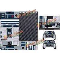 Личность виниловое покрытие наклейка для Xbox Kinect одного контроллера 2 шкуры