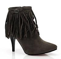 Женские ботинки ALCOR Grey, фото 1