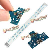 JDS 001 логическая плата с совпадающими плоский кабель комбинированный USB зарядное гнездо для платы контроллера PlayStation 4 PS4