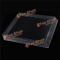 500 * 500мм прозрачный поликарбонат резка панелей резьба пластины 2-8мм