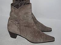 Vera Gomma_Италия _Замша стильные ботинки _ 39-26